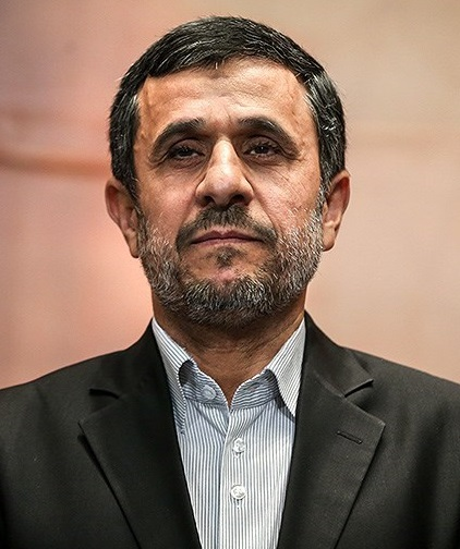 Former Iranian President Mahmoud Ahmadinejad in 2013. Credit: Wikimedia Commons.