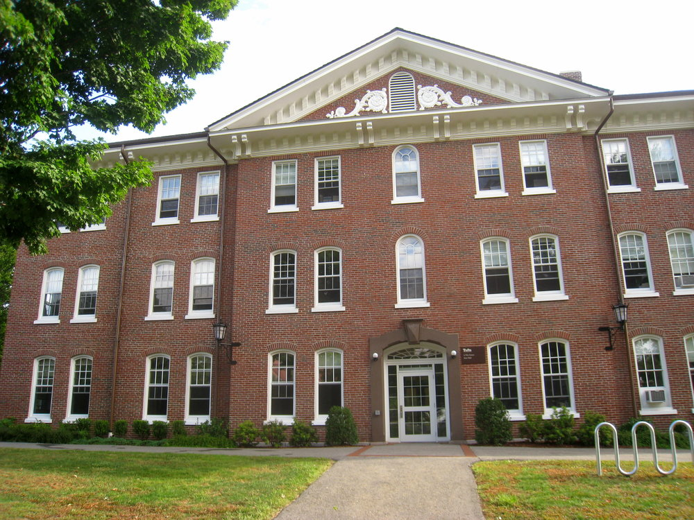 East Hall at Tufts University. Credit: Wikimedia Commons.
