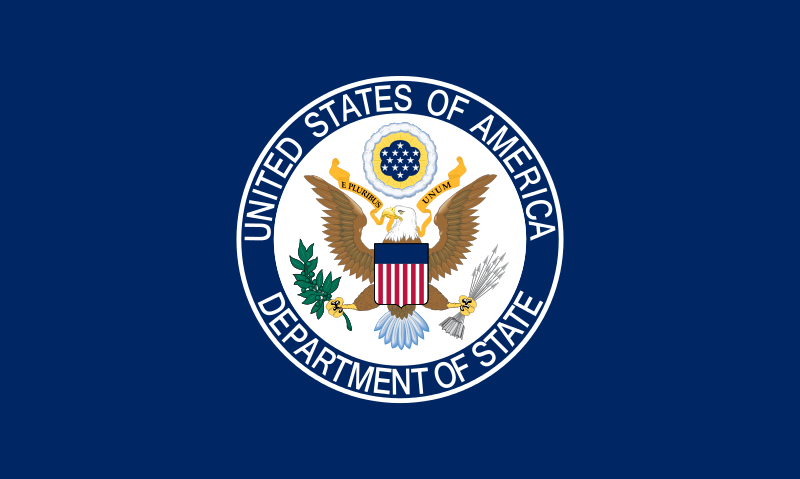 The State Department flag. Credit: State Department.