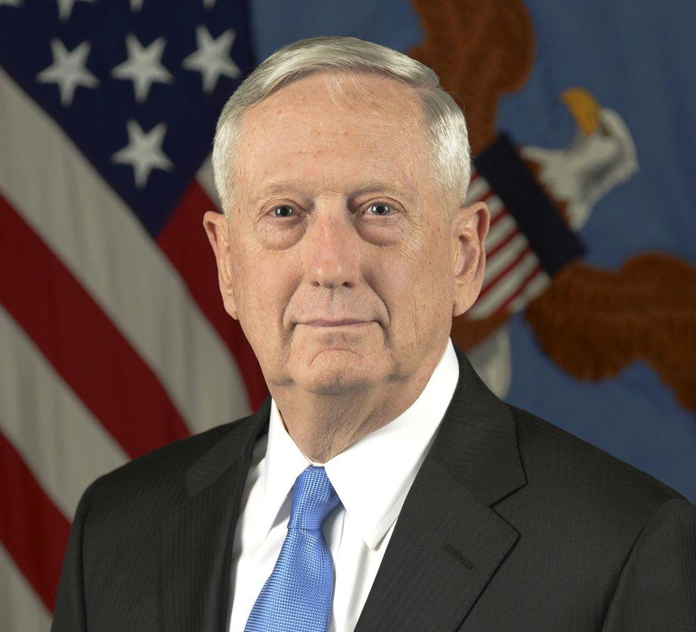 Secretary of Defense James Mattis. Credit: Monica King/U.S. Department of Defense.