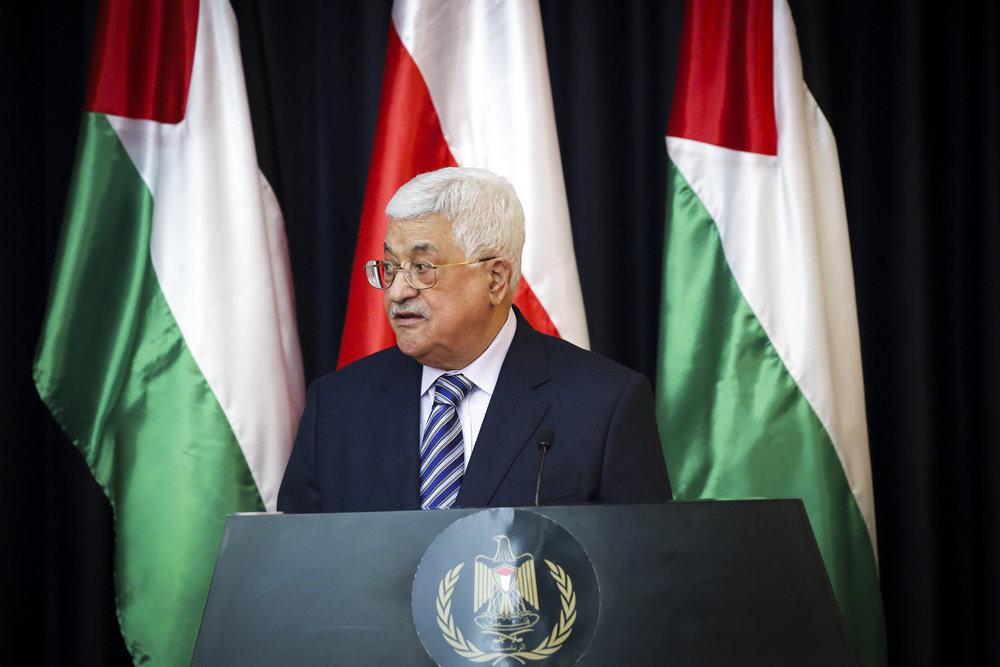 Palestinian Authority President Mahmoud Abbas,Jan. 18, 2017. Credit: Wisam Hashlamoun/Flash90.