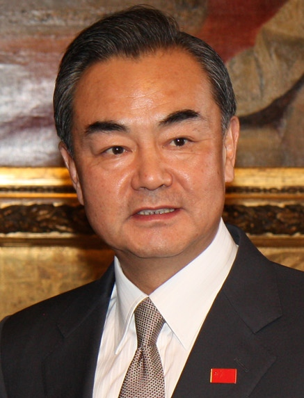 Chinese Foreign Minister Wang Yi. Credit: Chinese Foreign Ministry.