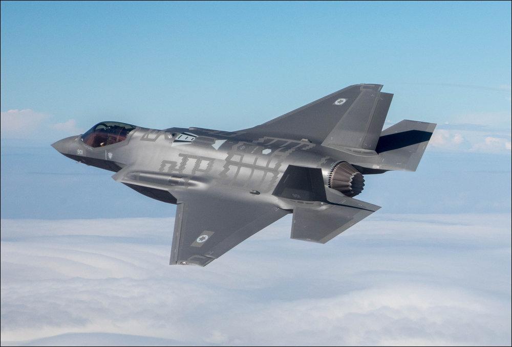 An Israeli Air Force jet. Credit: Maj. Ofer/Israeli Air Force.