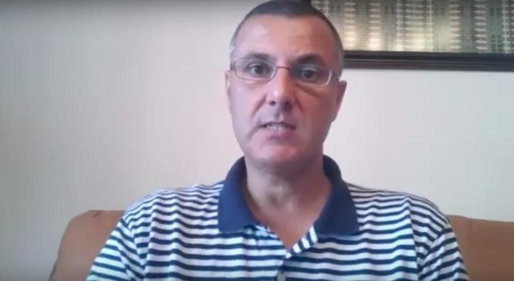BDS movement co-founder Omar Barghouti. Credit: YouTube.