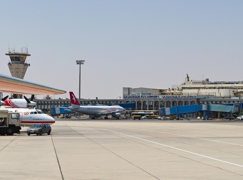 Damascus International Airport. Credit: Igor Bubin via Wikimedia Commons.