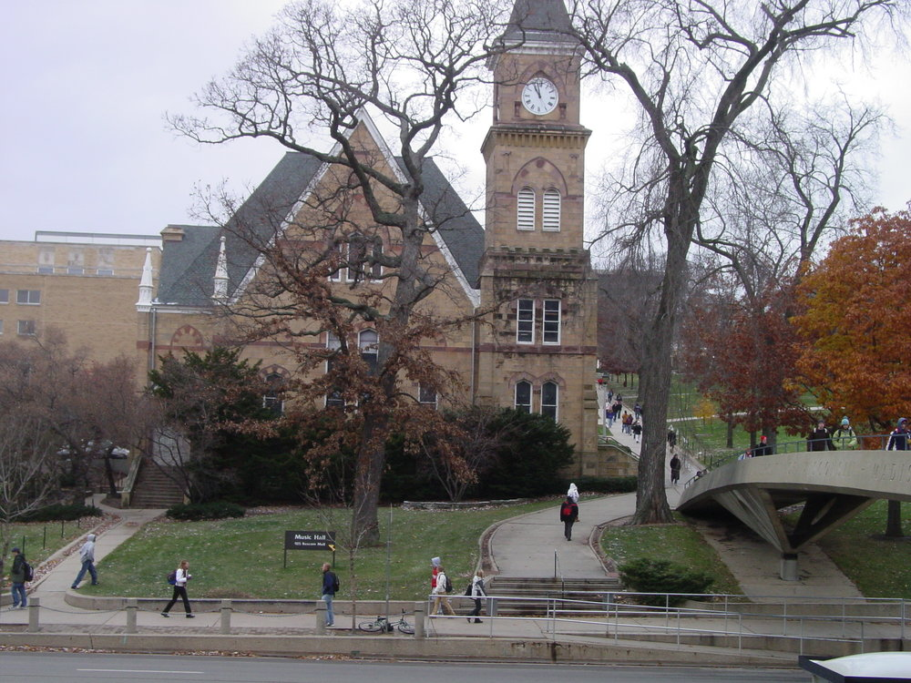 The University of Wisconsin-Madison campus. Credit: Wikimedia Commons.