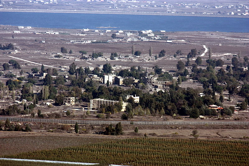 A view of Quneitra, Syria. Credit: Wikimedia Commons.
