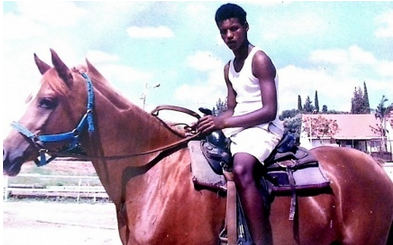 Avera Mengistu, an Ethiopian Israeli who allegedly has mental illness and is held by the Palestinian terror group Hamas. Credit: Provided photo.