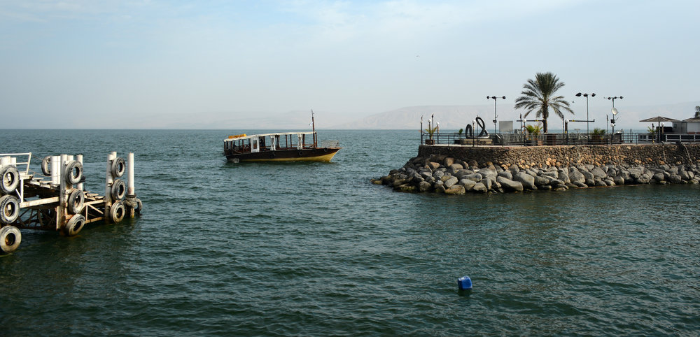 The Israel Meteorological Service says the Sea of Galilee (pictured)—one of Israel's primary water sources—has seen only 70 percent of its average annual rainfall. Credit: Staselnik via Wikimedia Commons.