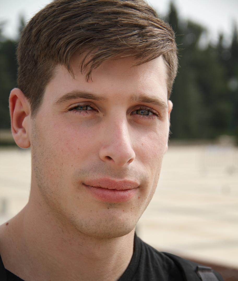 Israeli veteran Adam Stufflebeam. Credit: Courtesy of Jewish National Fund.