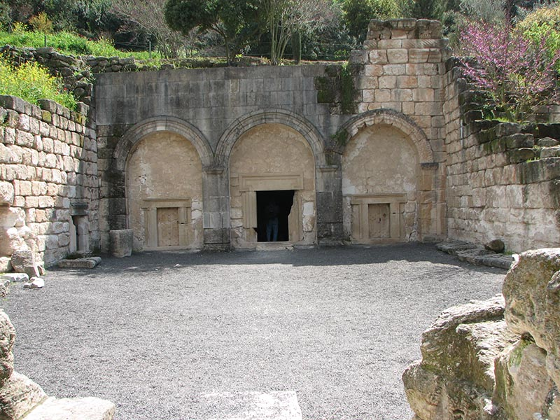 "Israel's forthcoming ""Sanhedrin Trail"" will span the Lower Galilee between Tiberias and Beit She'arim National Park (pictured). Credit: Wikimedia Commons."
