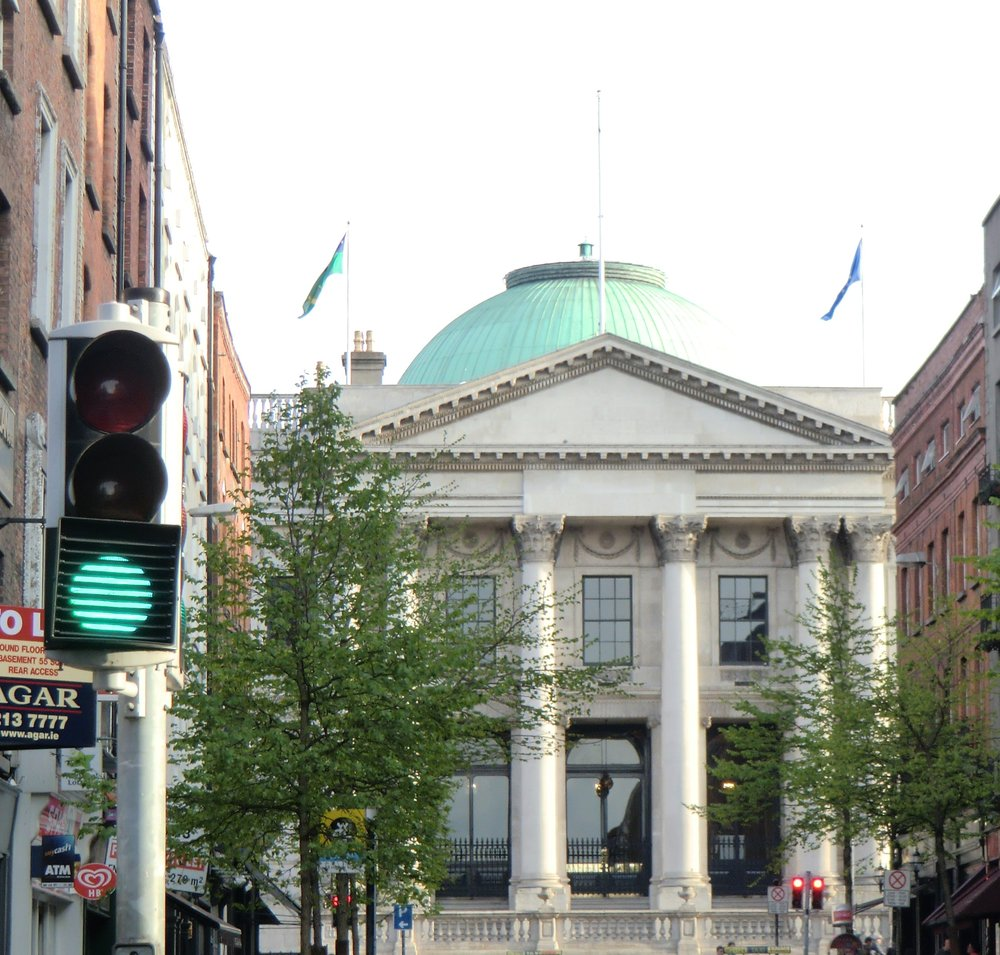 Dublin's City Hall building. Credit: Wikimedia Commons.