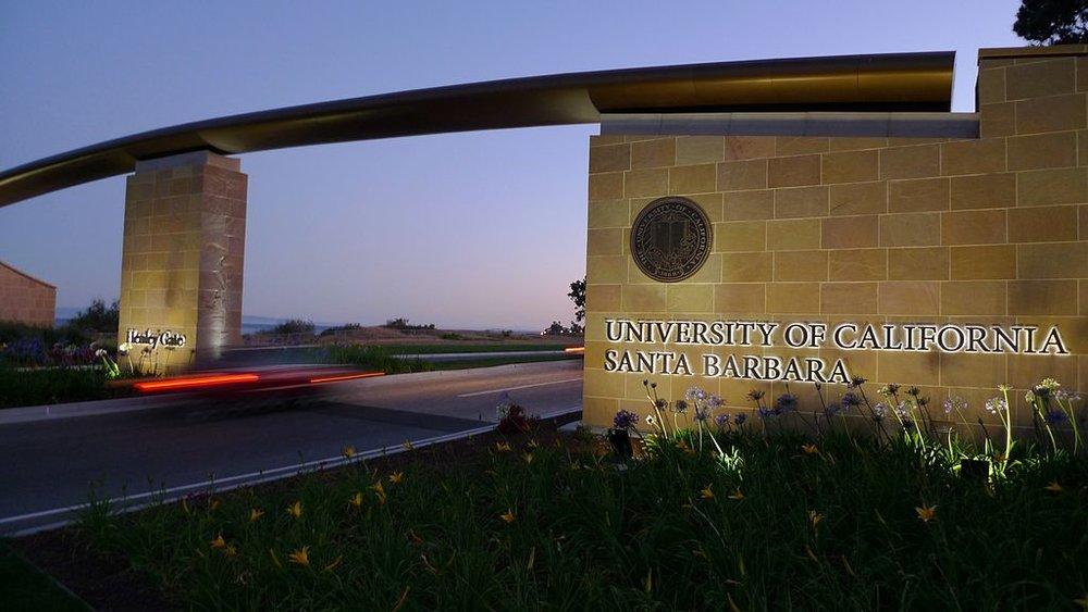 One of the entrances to University of California, Santa Barbara. Credit: Ryosuke Yagi via Wikimedia Commons.