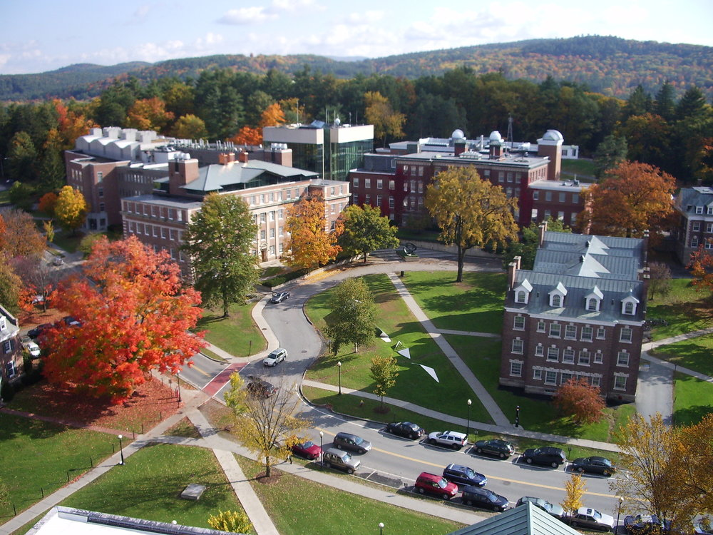 The Dartmouth College campus. Credit: Kane5187 via Wikimedia Commons.