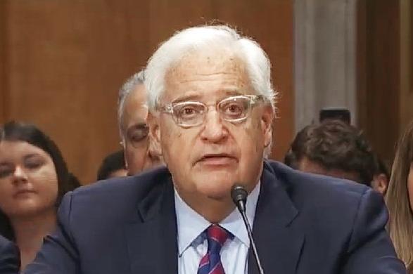 U.S. Ambassador to Israel David Friedman. Credit: C-SPAN via Wikimedia Commons.