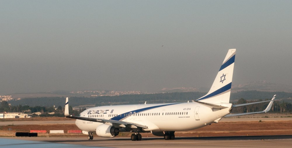 An El Al Israel Airlines plane on the runway at Ben Gurion International Airport. Credit: Ralf Roletschek via Wikimedia Commons.