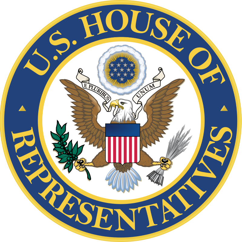 The U.S. House of Representatives seal. Credit: U.S. House of Representatives.