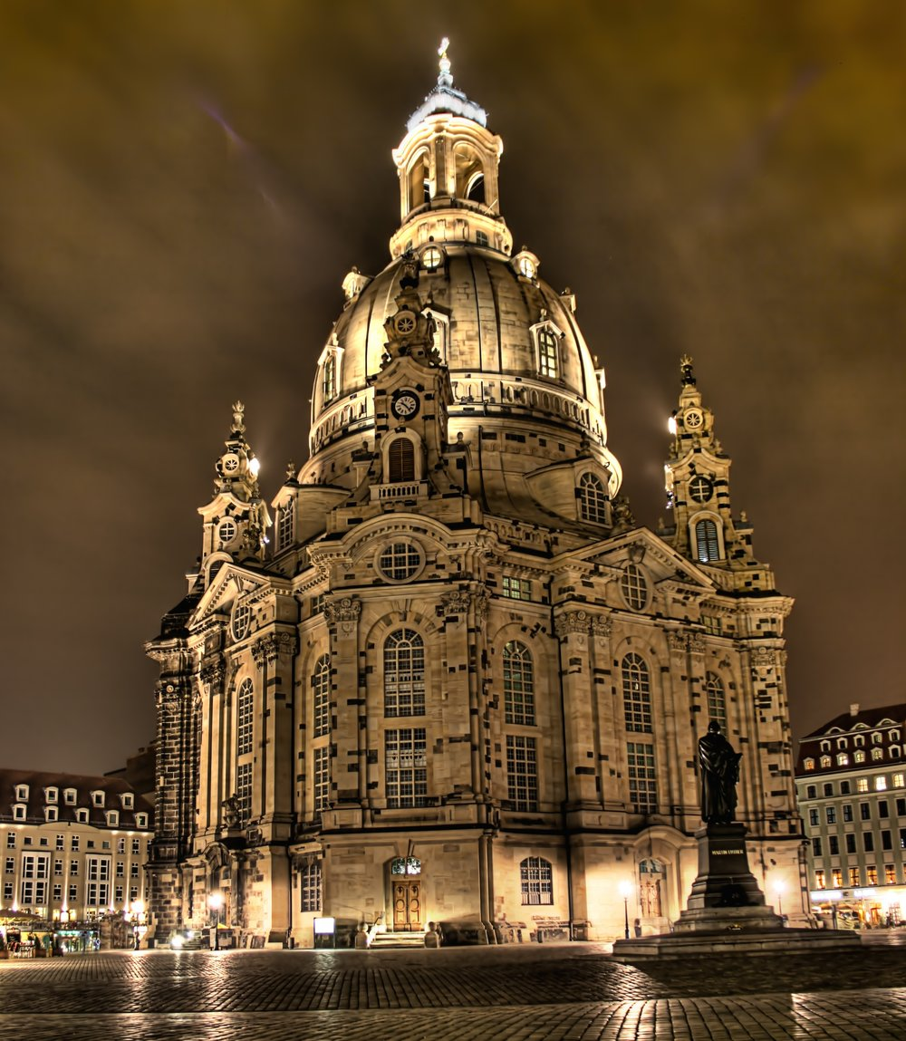Dresden's Frauenkirche (Church of Our Lady). Credit: David Müller via Wikimedia Commons.