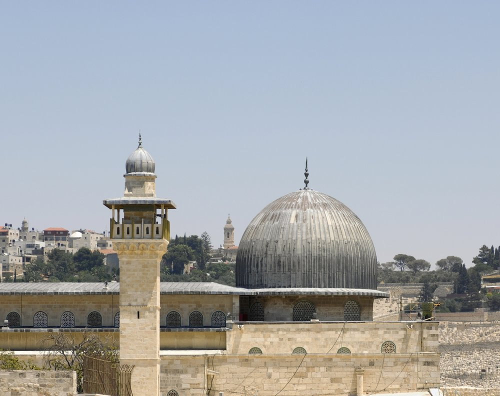 A view of the Al-Aqsa mosque on Jerusalem's Temple Mount. Credit: Andrew Shiva via Wikimedia Commons.