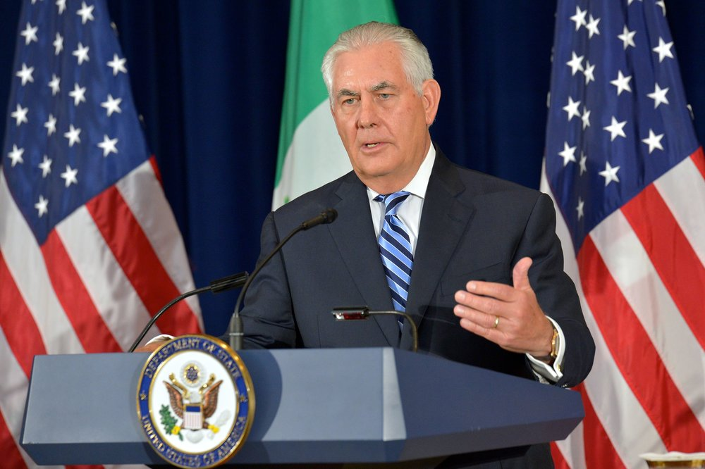 Secretary of State Rex Tillerson. Credit: State Department via Flickr.