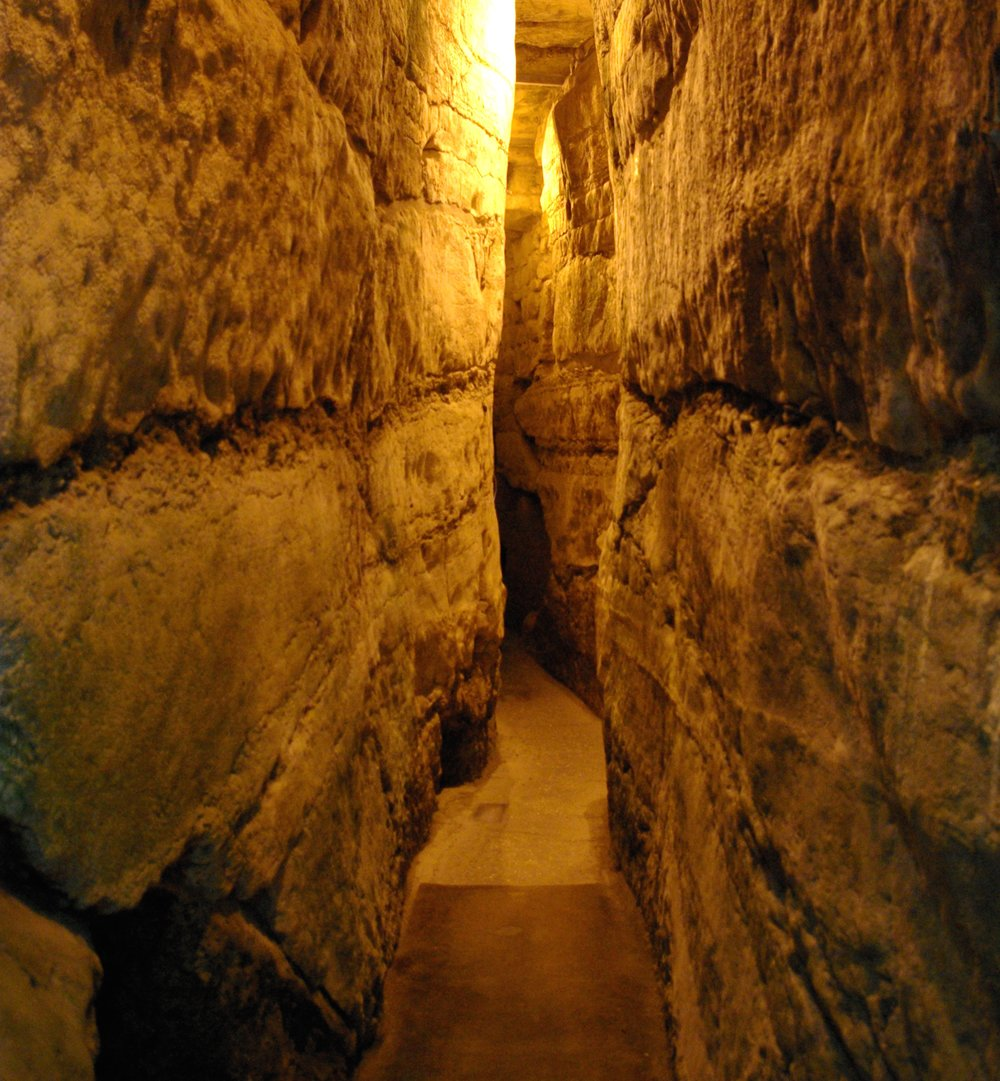 The Western Wall Tunnels. Credit: Berthold Werner via Wikimedia Commons.