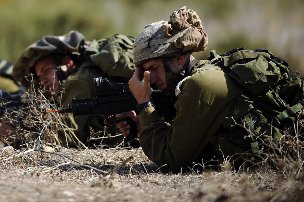 An IDF training exercise. Credit: IDF.