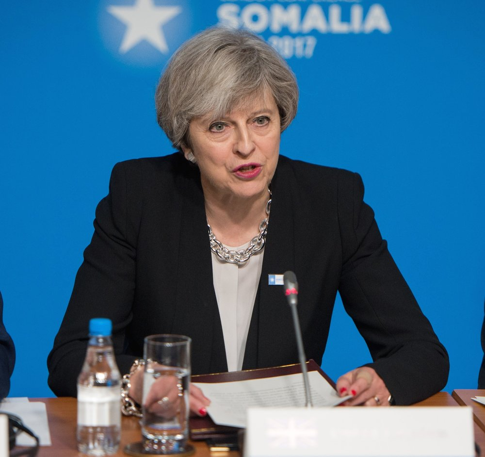 "After Saturday's London Bridge terror attack, U.K. Prime Minister Theresa May (pictured) vowed to crack down on the ""evil ideology of Islamist extremism."" Credit: U.S. Air Force Staff Sgt. Jette Carr/Department of Defense."