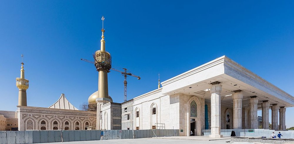 The mausoleum of former Iranian Supreme Leader Ruhollah Khomeini. Credit: Diego Delso via Wikimedia Commons.