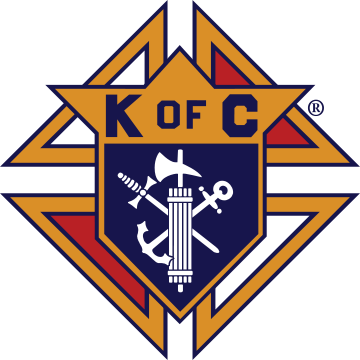 The Knights of Columbus logo. Credit: Wikimedia Commons.