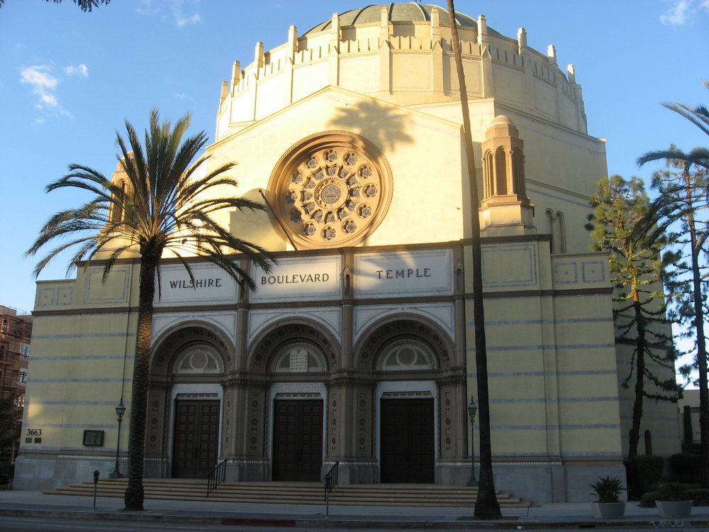 Wilshire Boulevard Temple in Los Angeles. Credit: Wikimedia Commons.