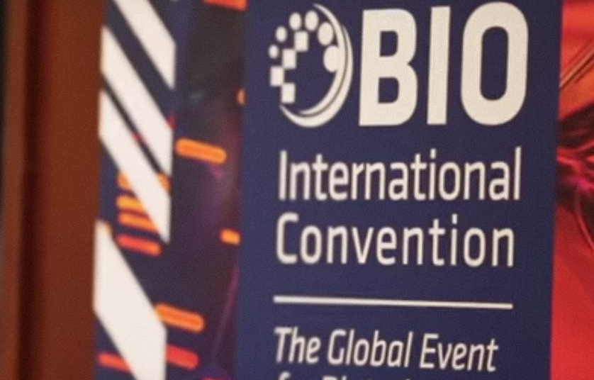 A poster at a past BIO International Convention. Credit: YouTube.