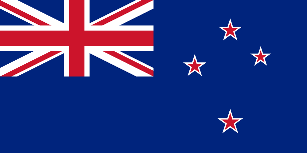 The New Zealand flag. Credit: Wikimedia Commons.