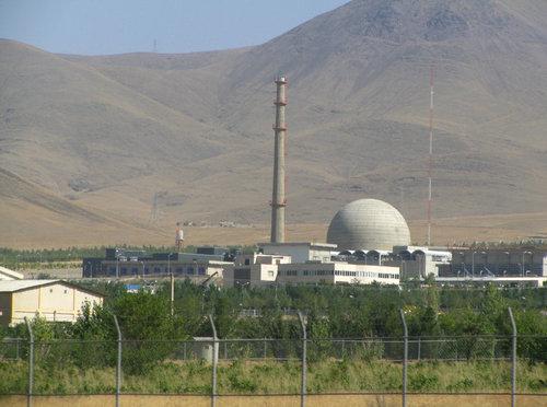 The Iranian nuclear program's heavy water reactor near Arak. Credit: Nanking2012 via Wikimedia Commons.