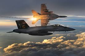 The U.S. Navy F/A-18E Super Hornet fighter jet. Credit: U.S. Air Force.