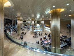 Inside Israel's Ben Gurion Airport in Tel Aviv. Negotiations are underway to start flights for Palestinians to travel from Israel to Riyadh, Saudi Arabia during Ramadan.Credit: Wikimedia Commons.