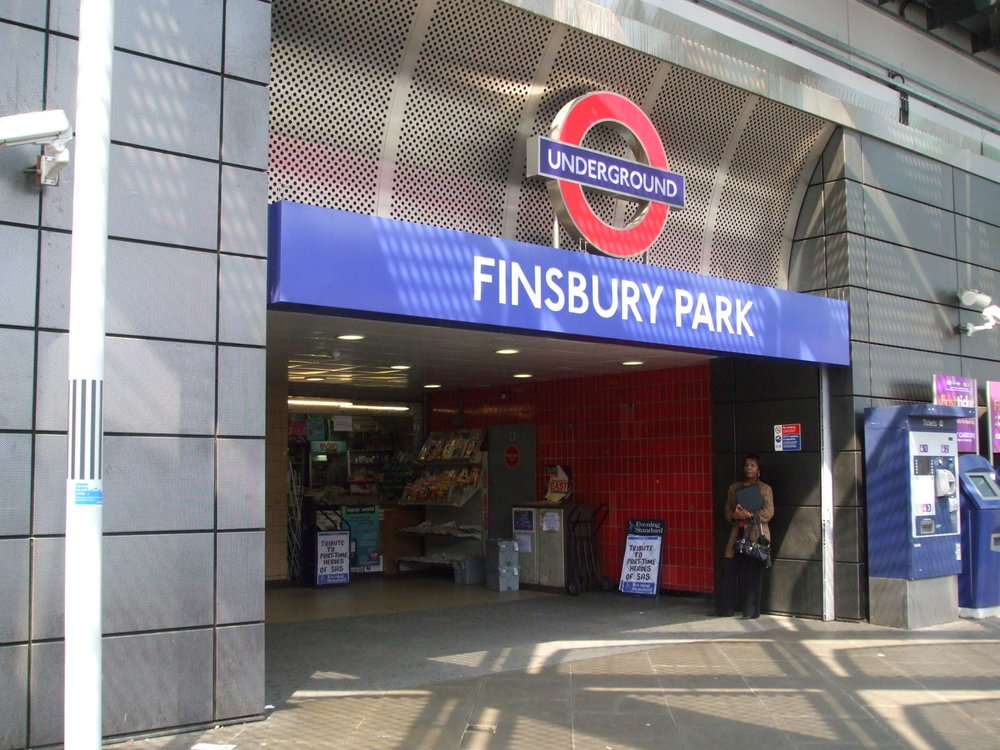 A view of London's Finsbury Park subway station. An attack outside the city's mosque June 19 left one man dead and 10 wounded. Credit: Wikimedia Commons.