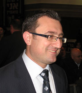 Israeli MK Robert Illatov (Yisrael Beytenu) who sponsored the bill seeking to strip terrorists their citizenship or residency. Credit: Wikimedia Commons.