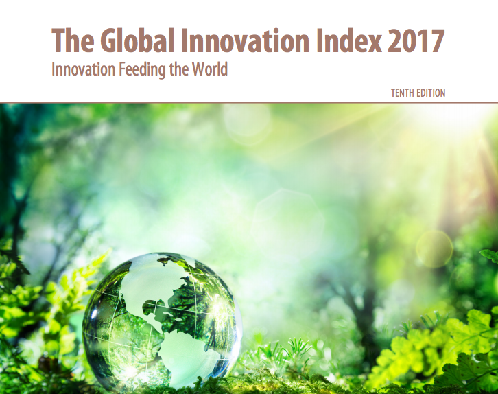 The cover page of the United Nations's Global Innovation Index report. Credit: Global Innovation Index