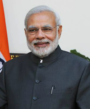 Indian Prime Minister Narendra Modi. Credit: Wikimedia Commons.