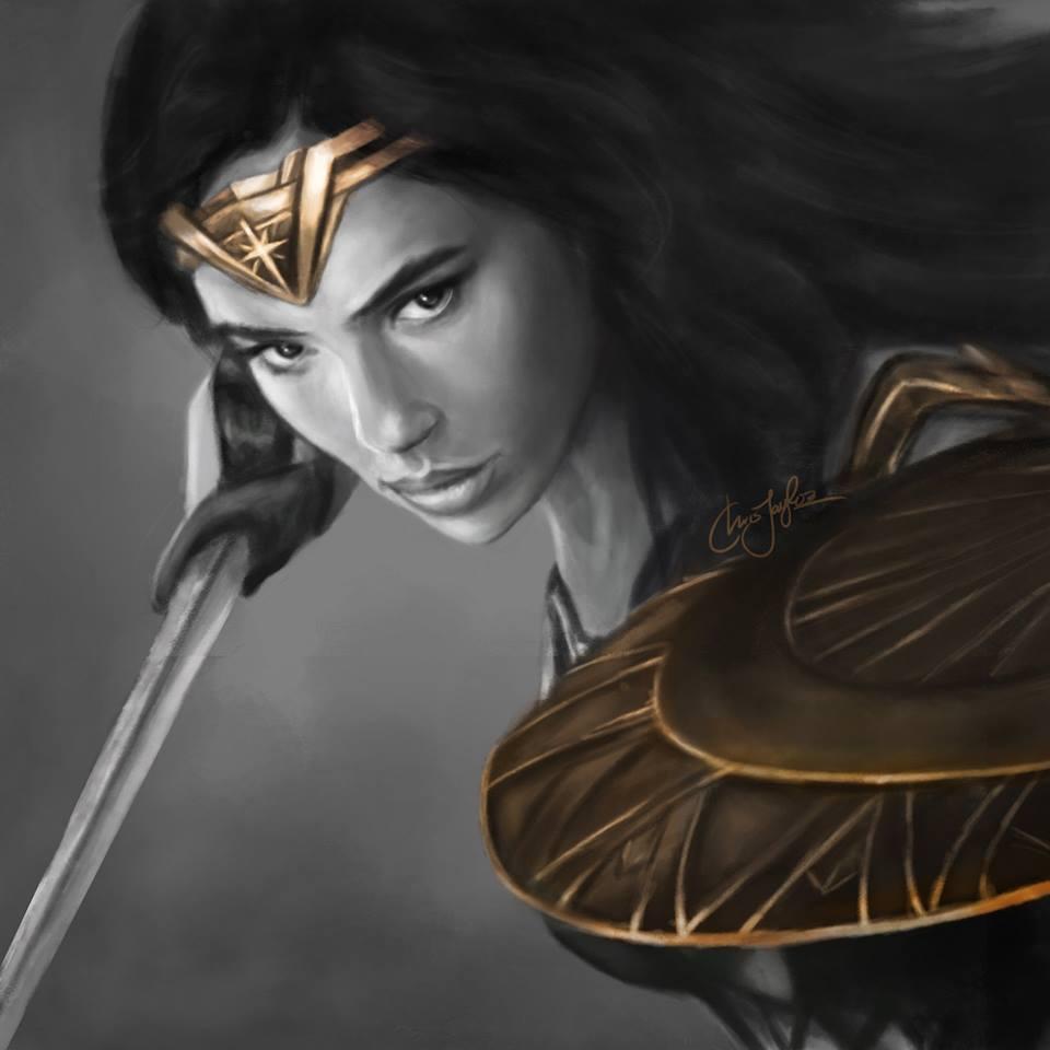 "A ""Wonder Woman"" film poster. Credit: Facebook."