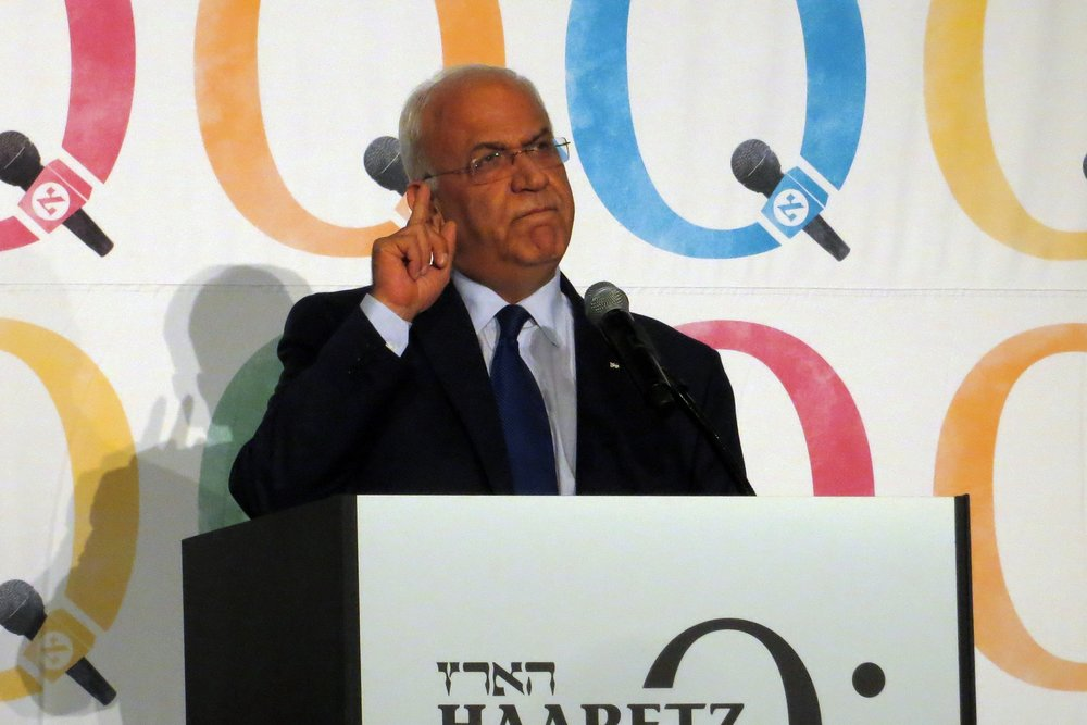 PLO Secretary-General Saeb Erekat. Credit: Alan Kotok via Wikimedia Commons.