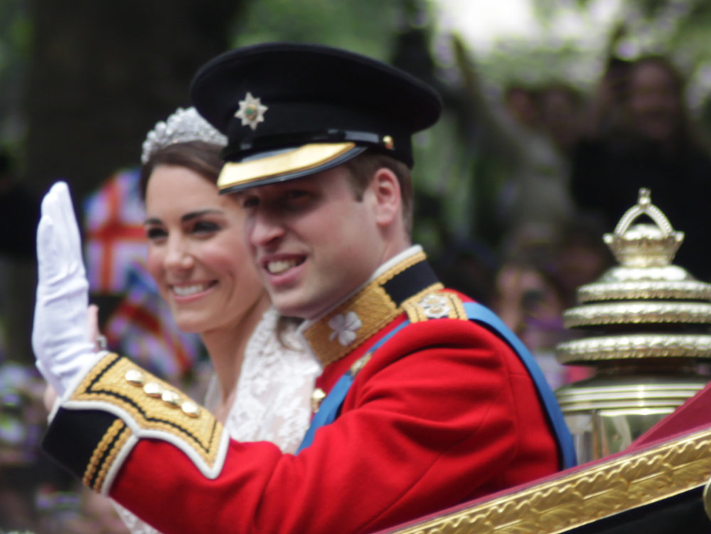 British royals Prince William and Kate Middleton. Credit: Robbie Dale via Wikimedia Commons.