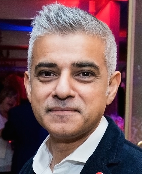 London Mayor Sadiq Khan. Credit:U.S. Embassy London.
