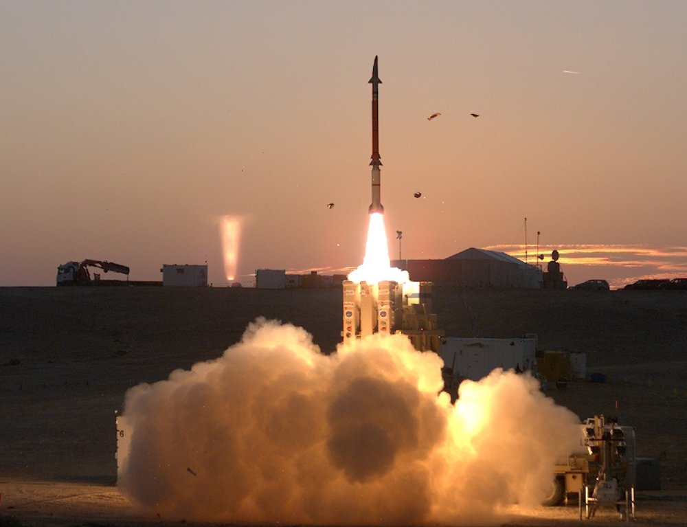 A David's Sling system test in December 2015. Credit: United States Missile Defense Agency