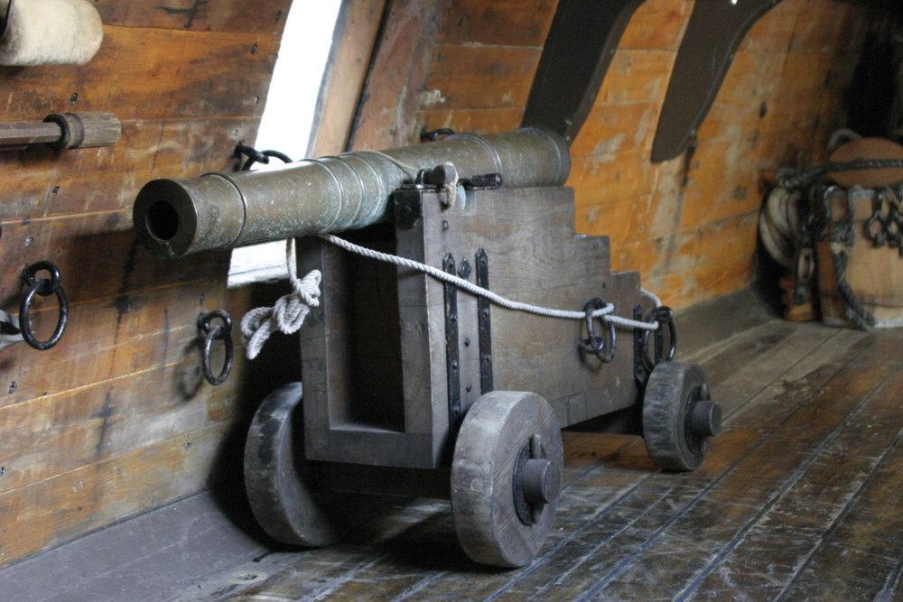 """A """"falcon"""" cannon. (Illustrative photo.) Credit: Wikimedia Commons."""