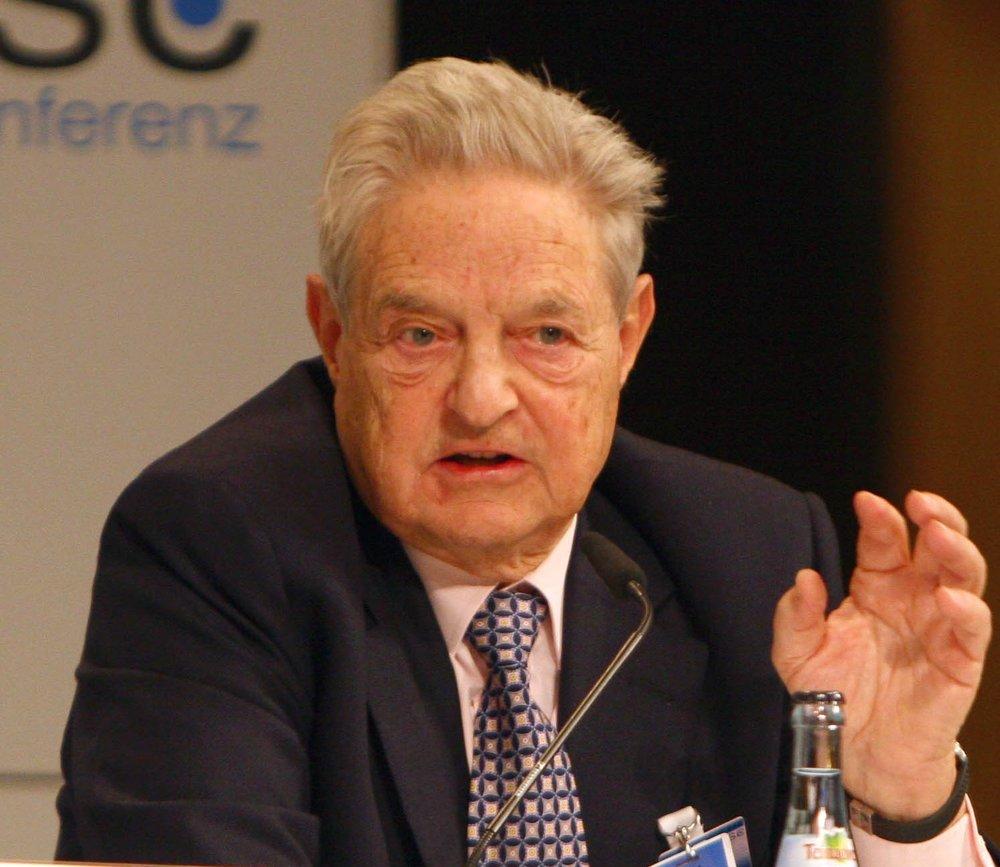 George Soros. Credit:Harald Dettenborn via Wikimedia Commons.