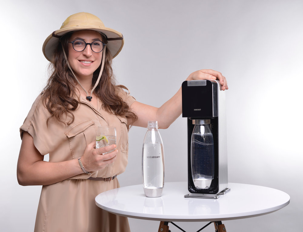 Image result for mayim bialik soda stream
