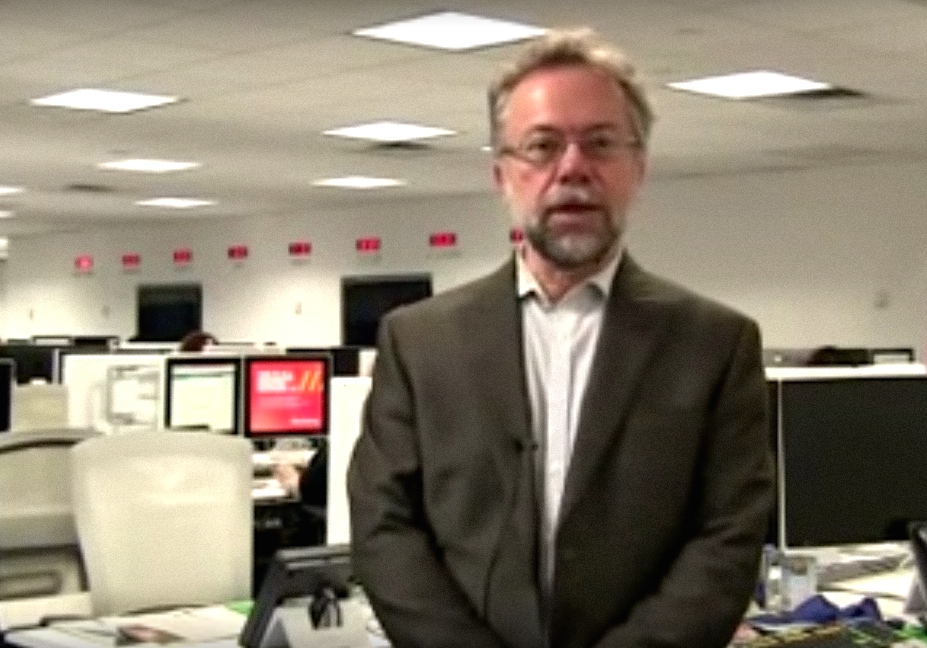 Samuel Norich, president of The Forward. Credit: YouTube.