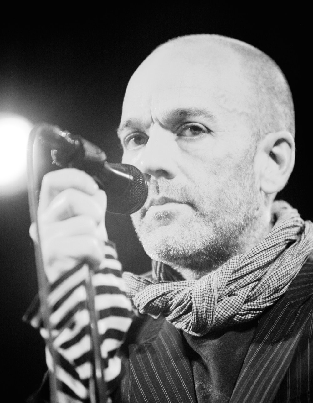 R.E.M. frontman Michael Stipe. Credit: Kris Krug via Wikimedia Commons.