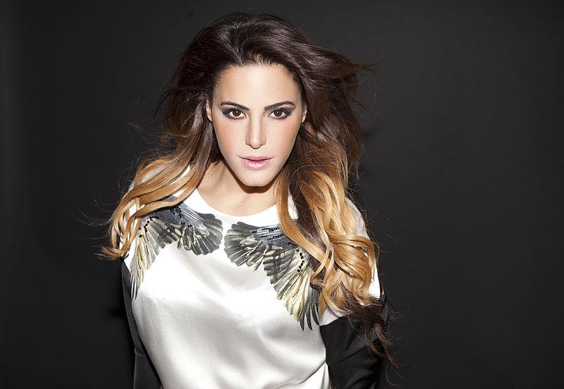 Israeli Arab singer Nasreen Qadri. Credit: Wikimedia Commons.
